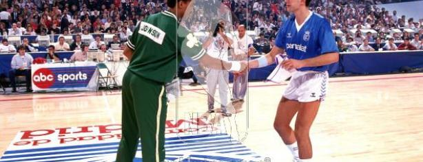 Open McDonald's 1988: Real Madrid 96 – Boston Celtics 111