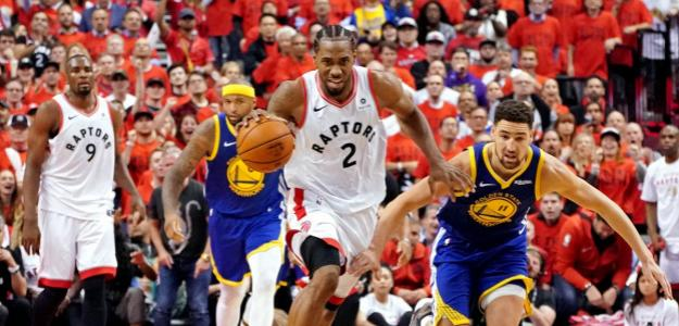 Raptors y Warriors