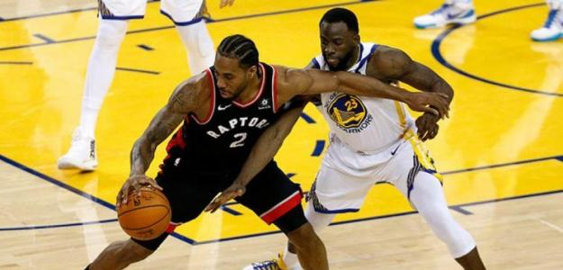 Warriors y Raptors