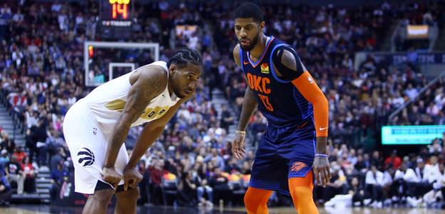 Paul George y Kawhi Leonard | Foto: getty images