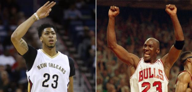 Anthony Davis vs. Michael Jordan.