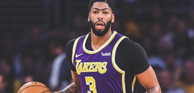 Anthony Davis, jugador de Los Angeles Lakers.