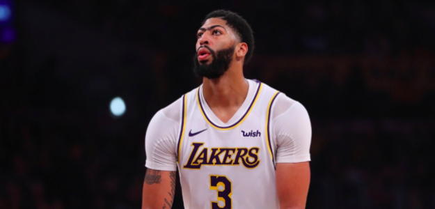 Anthony Davis, estrella de Los Angeles Lakers.