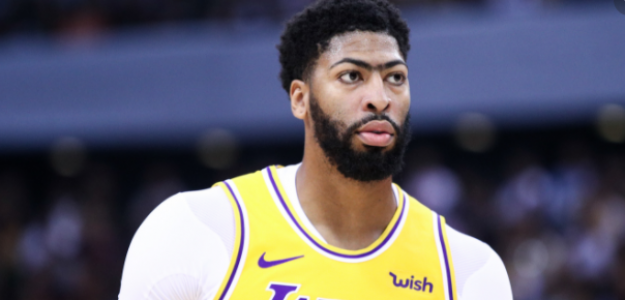 """Anthony Davis, durante un partido con los Lakers """"Foto: Sir Charles In Charge"""""""