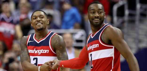 Bradley Beal y John Wall, ex compañeros en Washington Wizards.