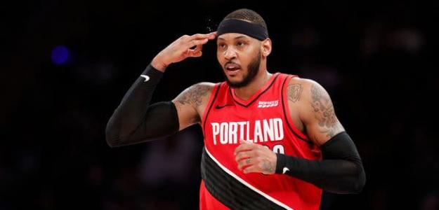 Carmelo Anthony, disponible en Agencia Libre NBA 2020. Foto: gettyimages