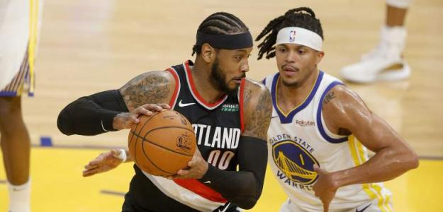 Carmelo Anthony, rumores NBA fichaje por Golden State Warriors. Foto: gettyimages