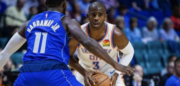 Chris Paul, jugador de Oklahoma City Thunder.