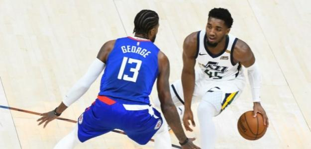 Crisis Utah Jazz y Los Angeles Clippers. Foto: gettyimages