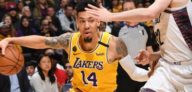 Danny Green, jugador de Los Angeles Lakers.