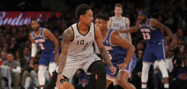DeMar DeRozan, rumores NBA fichaje New York Knicks. Foto: gettyimages