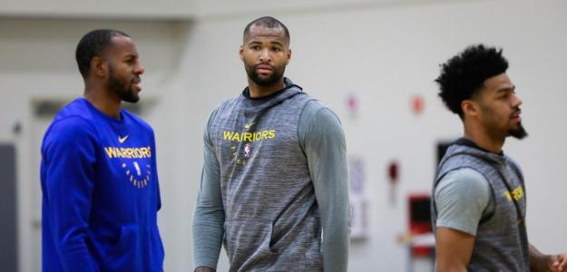 DeMarcus Cousins, jugador de Golden State Warriors.