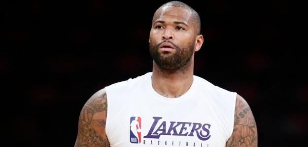 DeMarcus Cousins, ex jugador de Los Angeles Lakers.
