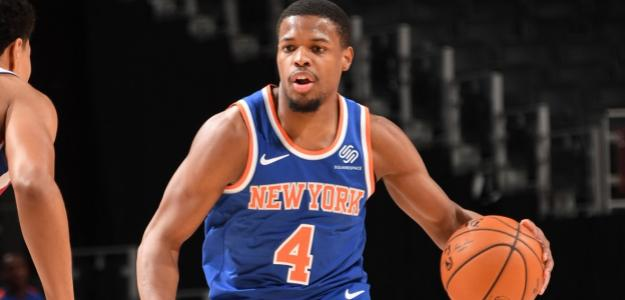 Dennis Smith Jr, jugador de New York Knicks.