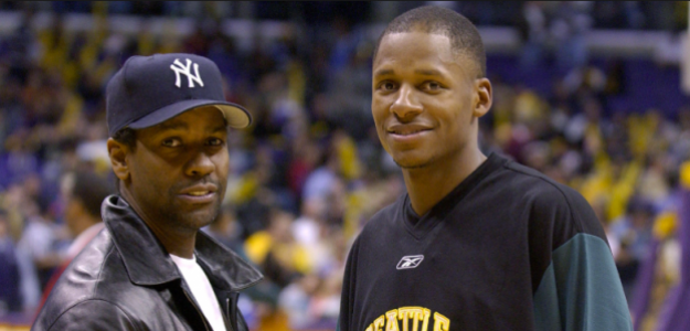 Denzel Washington y Ray Allen fueron compañeros en 'He Got Game'.