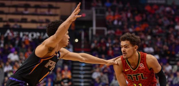 Devin Booker y Trae Young, grandes ausentes All Star NBA 2021. Foto: gettyimages
