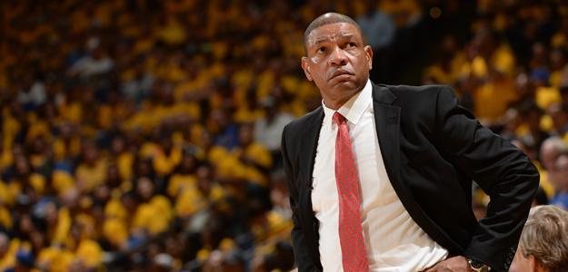 Doc Rivers, entrenador de Los Angeles Clippers.
