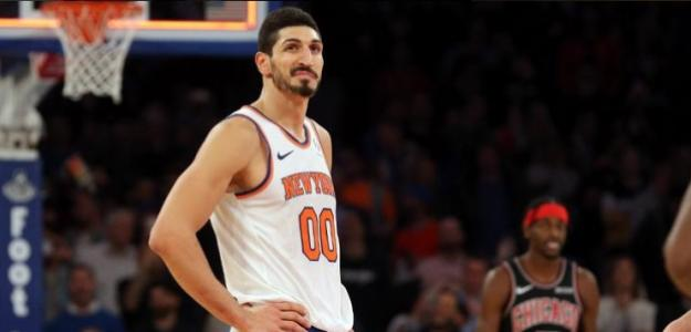Enes Kanter, jugador de New York Knicks.