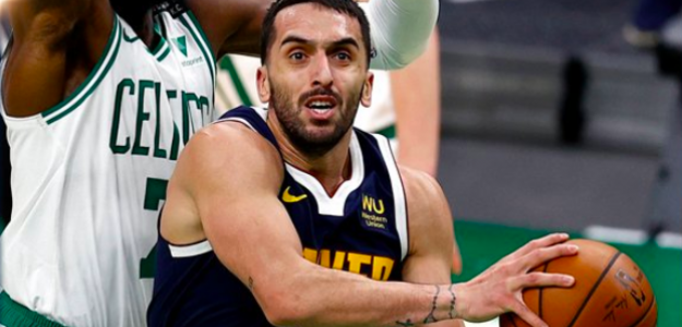 Facu Campazzo, ante Boston Celtics.