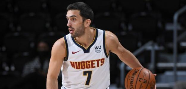 Facundo Campazzo, buen rendimiento en Denver Nuggets. Foto: gettyimages