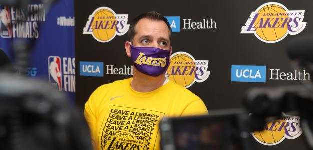 Frank Vogel, entrenador de Los Angeles Lakers.