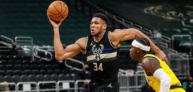 Giannis Antetokounmpo, jugador de Milwaukee Bucks.
