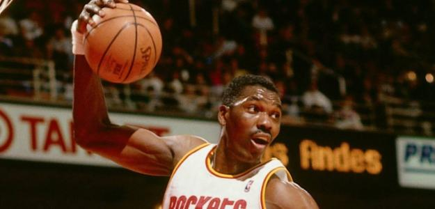 Hakeem Olajuwon, cuádruple-doble. Foto: gettyimages