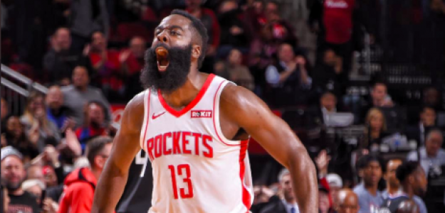 James Harden, estrella de Houston Rockets.