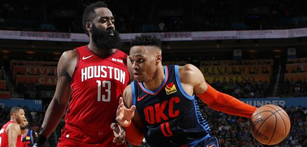 Russell Westbrook y James Harden | Foto: nba.com