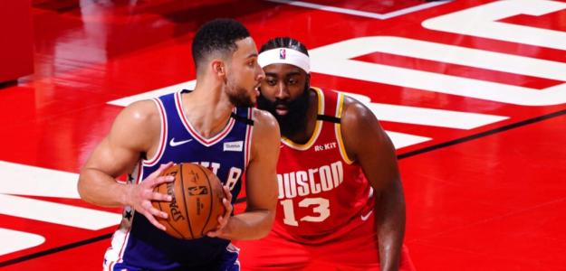 James Harden contra Ben Simmons.