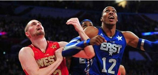 Kevin Love y Dwight Howard