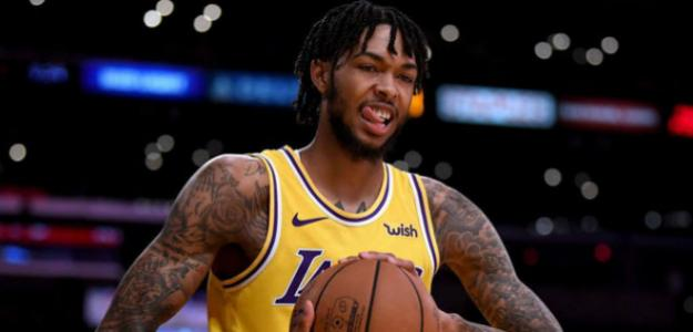 Brandon Ingram, en un partido de esta temporada con los Lakers