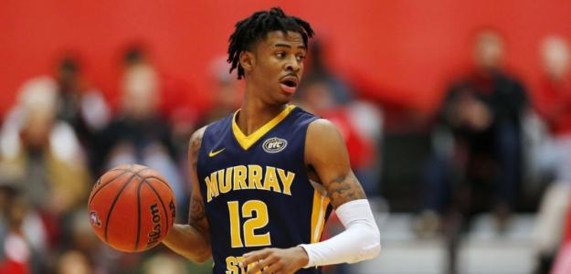 Ja Morant, jugador de Murray State University.