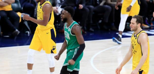 Jaylen Brown, de Boston eltics, fue el MVP del partido.