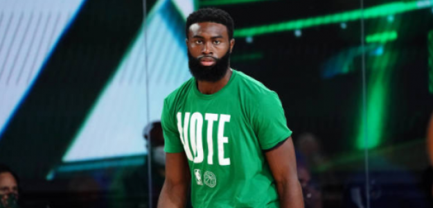 Jaylen Brown, influencia en Boston Celtics. Foto: gettyimages