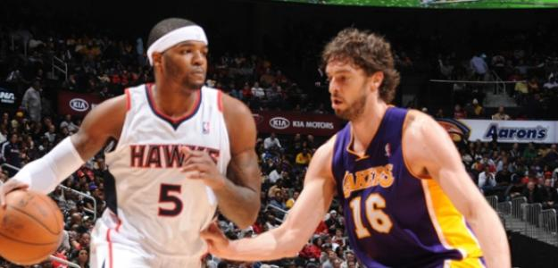 Se especula con un 'trade' Pau Gasol - Josh Smith