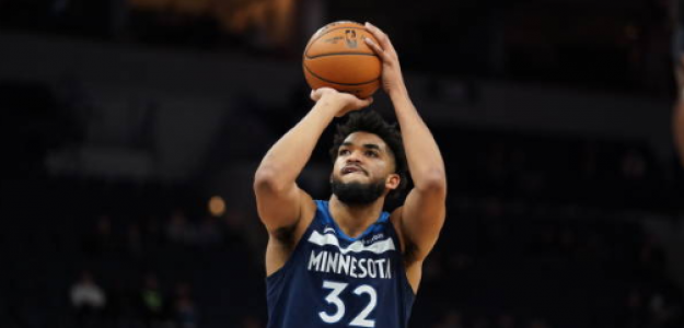 Karl-Anthony Towns reclama respeto. Foto: gettyimages