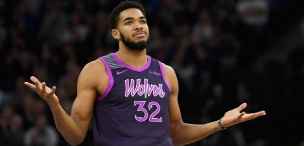 Karl-Anthony Towns, jugador de Minnesota Timberwolves.