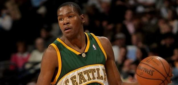Kevin Durant en Seattle Supersonics