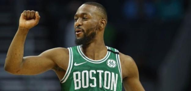 Kemba Walker, jugador de Boston Celtics.