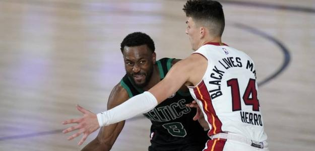 Kemba Walker, mal rendimiento con Boston Celtics. Foto: gettyimages