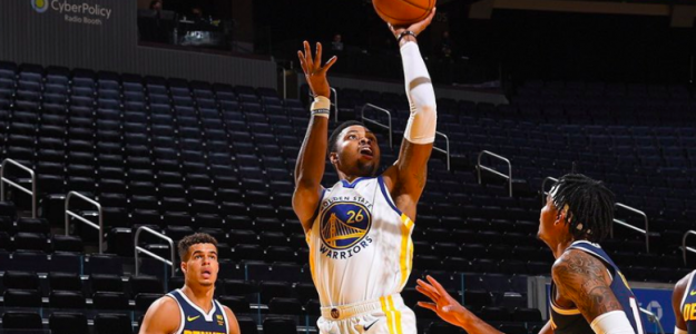 Kent Bazemore, jugador de Golden State Warriors.