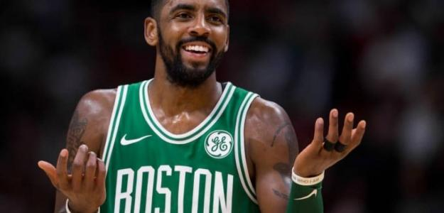 Kyrie Irving, estrella de los Boston Celtics
