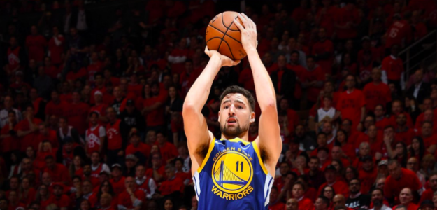 Klay Thompson, jugador de Golden State Warriors.