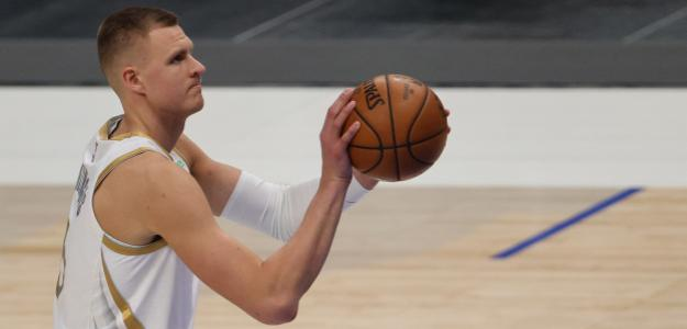 Kristaps Porzingis, jugador de Dallas Mavericks.