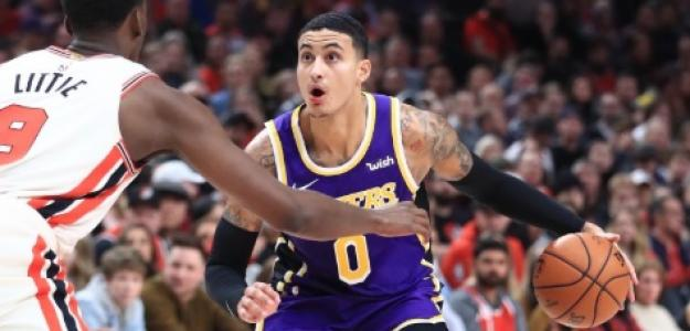Kyle Kuzma, jugador de Los Angeles Lakers.