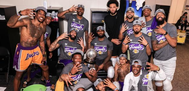 Los Angeles Lakers, campeón de la Conferencia Oeste 2020.