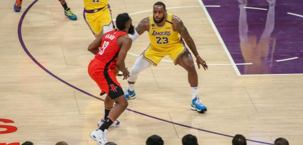 Análisis y horarios de Los Angeles Lakers y Houston Rockets. Foto: gettyimages