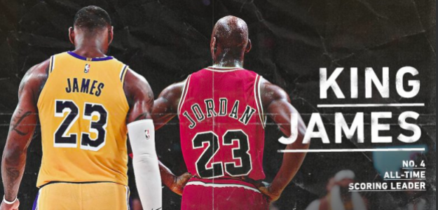 LeBron James y Michael Jordan.