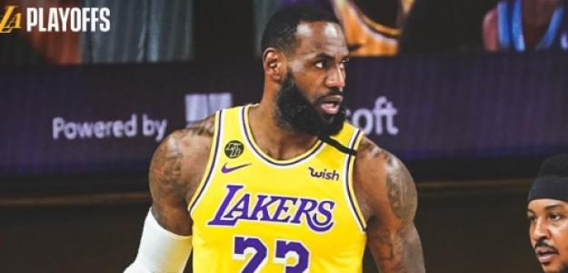 LeBron James, estrella de Los Angeles Lakers.